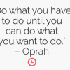Motivation Monday: Career Advice From Oprah.